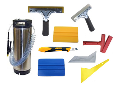 Window Film Installation Tools